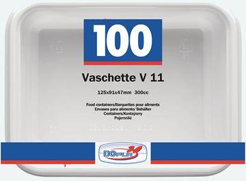 vaschette plastica v-11 x 100 pz-a-7012