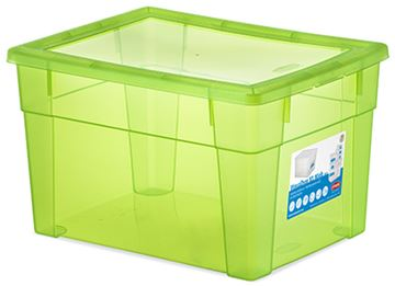 scatola visualbox 40x30x24 verde 13130