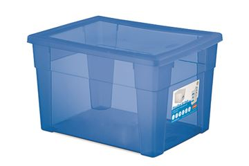 scatola visualbox 40x30x24 blu  13133