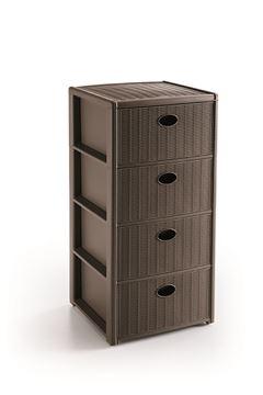 cassettiera eleg-4 cass-beige 30401
