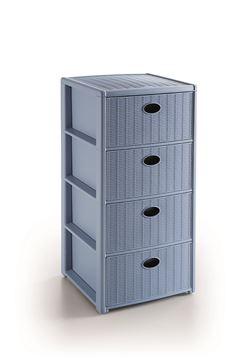 cassettiera eleg-4 cass-blu avio 30403