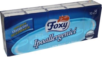 foxy fazzolet-x 10 ipoallergenici