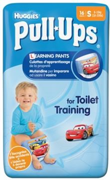 huggies pull-ups boys piccolo x 16  8-15