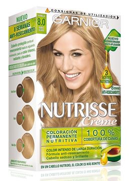 nutrisse n-8   biondo vaniglia chiaro