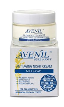 avenil crema antieta- notte latte avena 50