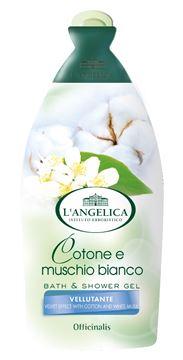 angelica bagno ml-500 cotone muschio bianco