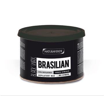- brasilian cera nera vaso depil-400 ml senza strisce