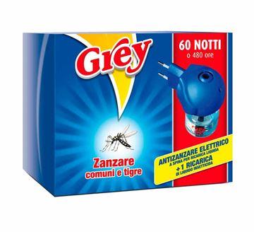 Antizanzare elettrico Grey Ricarica liquida