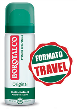 Picture of BOROTALCO POCKET-SIZE ORIGINAL SPRAY DEOD. 50 ML