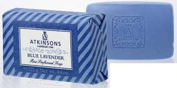 Picture of ATKINSON SAPONE BLUE LAVANDER GR.125