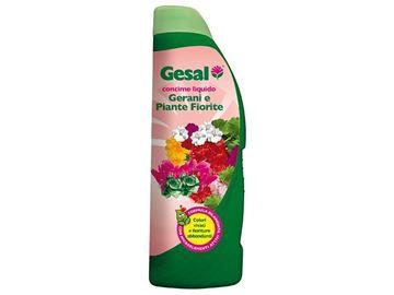 Concime liquido per gerani e piante fiorite 1000 ml - Gesal