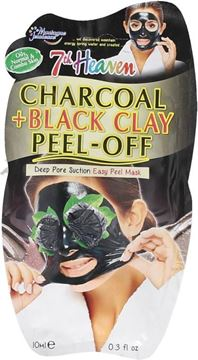Picture of @ SEVEN HEAVEN FACE MASK CHARCOAL + BLACK CLAY
