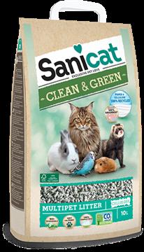 Picture of SANICAT LETTIERA CLEAN & GREEN L 10 CELLULOSA