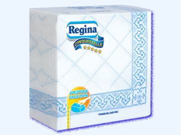 Picture of REGINA NAPKINS 5 STARS  38X38 X 50