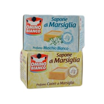 Picture of OMINO BIANCO SAPONE BUCATO MARSIG.GR.250