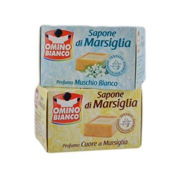 Immagine di OMINO BIANCO SAPONE BUCATO MARSIG.GR.250