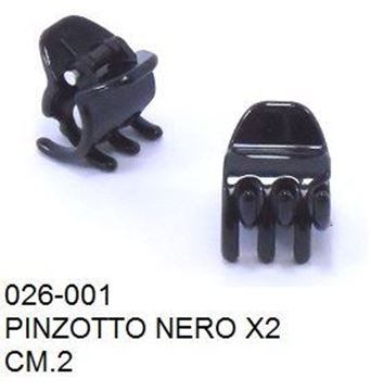 Picture of PINZOTTO CM 2 NERO X2  CS026-001