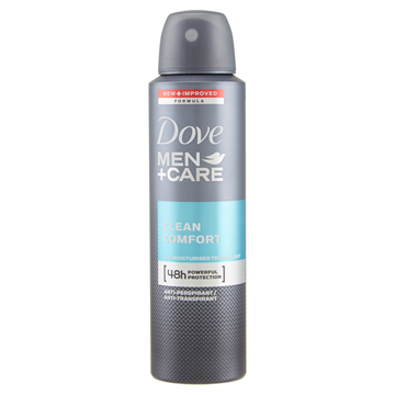 Picture of DOVE MEN COMFORT SPRAY DEOD. 150 ML