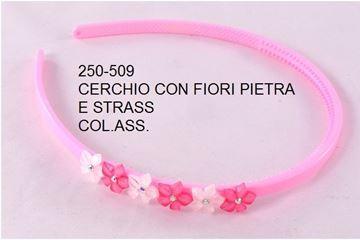 Picture of CERCHIO CM 0.5 FIORI E STRASS CS 250-509