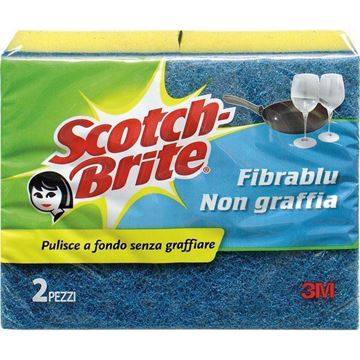 Picture of SCOTCH-BRITE SPUGNA ANTIGR.X 2 FIBRA -17