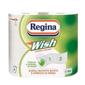 Picture of REGINA ASCIUGONI CARTA CUCINA WISH X 2