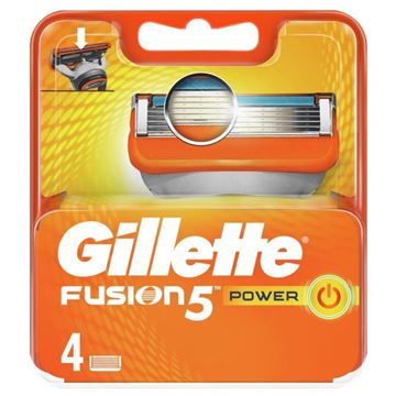 Picture of GILLET FUSION5 BLADE POWER  X 4 NEW