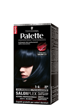 Picture of PALETTE HAIR COLOR  1-4 BLACK BLUE