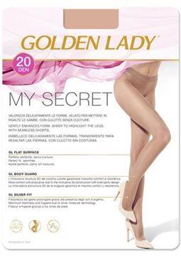 Immagine di GOLDEN COLLANT MY SECRET 20D NERO III