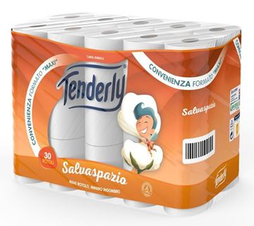 Picture of TENDERLY TOILET PAPER MAXI X 30 SAVESPACE