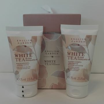 Picture of ATKINSON GARDEN WHITE TEA BAGNO 75+BODY 75
