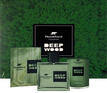 Picture of @ ROCKFORD CONF DEEP WOOD EDT 100ML.+DEOD 150