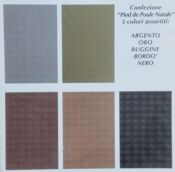 Immagine di SACCHETTI REGALO INTE  PIED DE POULE  35X50  X 100 PZ