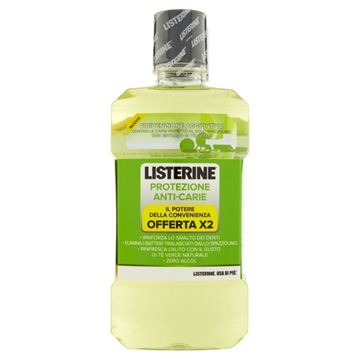Picture of LISTERINE PROT ANTICARIE 2X500 ML+12/95 OMAGGIO