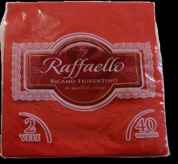 Picture of RED NAPKINS RAFFAELLO 38X38X40