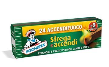 Picture of FOCHISTA ACCENDIF.24+2 SFREGA E ACCENDI