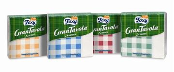 Picture of FOXY NAPKINS 314 GRANTAVOLA 33X33X43 SCOTTISH