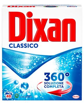 Picture of DIXAN LAUNDRY DRUM 40 WASHES KG 2,6