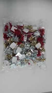 Picture of CIOCCHE MM 10 METAL ROSSO, ORO & ARGENTO 150 PZ
