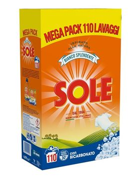 Picture of SOLE LAUNDRY POWDER DRUM 110 WASHES SHINY WHITE