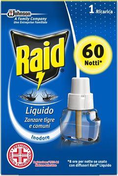 Picture of RAID RICARICA LIQUIDA 60 NIGHTS ZANZARE