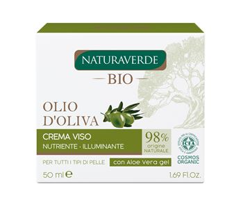 Picture of NATURAVERDE BIO CREMA VISO OLIO OLIVA 50 ML