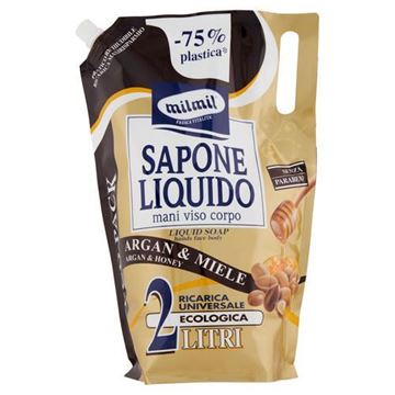 Picture of MIL MIL SAPONE BUSTA LT.2 ARGAN/MIELE