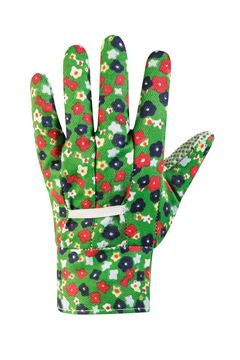 Picture of WORKING GLOVES FLORAL COTTON WOMAN