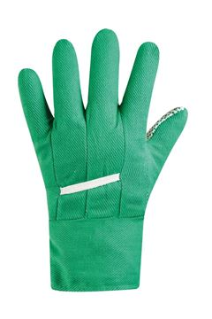 Picture of WORKING GLOVE COTTON MAN GREEN