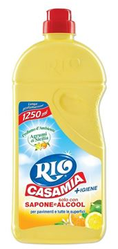 Picture of RIO CASAMIA FLOOR CLEANER YELLOW CITRUS FRUITS 1.25 L
