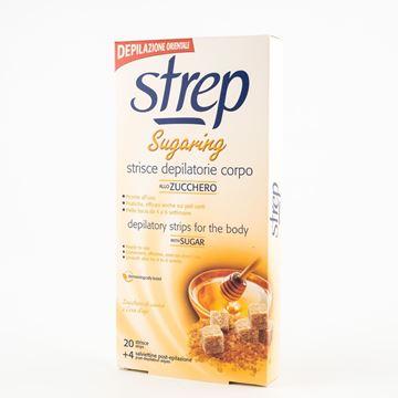 Immagine di STREP STRISCIE DEPILATORIE CORPO SUGARING X 20