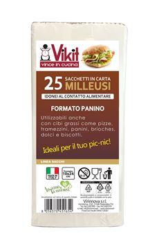 Picture of SACCHETTI CARTA MILLEUSI 20X24X25 PANINI
