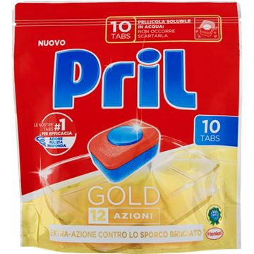 Picture of PRIL DISHWASHER TABS GOLD 12 ACTIONS X 10