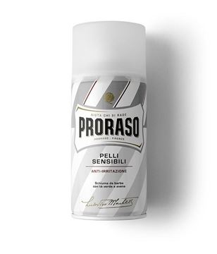 Picture of PRORASO SCHIUMA DA BARBA BIANCA 300 ANTI IRRITAZIONE