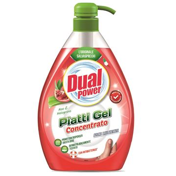 Picture of DUAL POWER PIATTI GEL DOSATORE L 1 ALOE & MELOGRANO